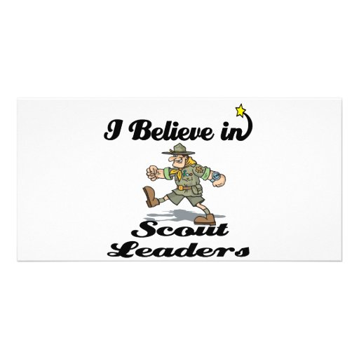 i believe in scout leaders photo cards