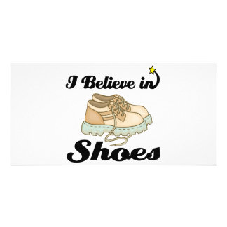 i believe in shoes photo cards