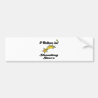 i believe in shooting stars bumper stickers