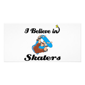 i believe in skaters photo card template