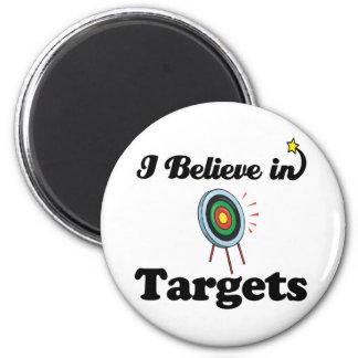 i believe in targets magnet