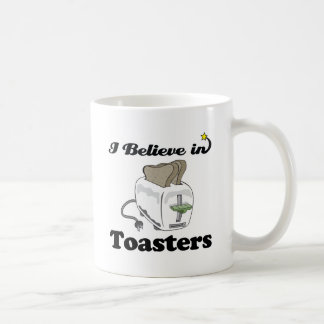 i believe in toasters coffee mugs