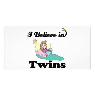 i believe in twins photo cards