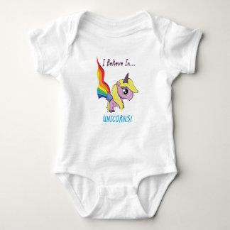 I Believe In Unicorns! Baby Bodysuit