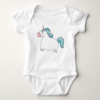 I believe in unicorns baby bodysuit
