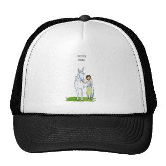 i believe in unicorns hats