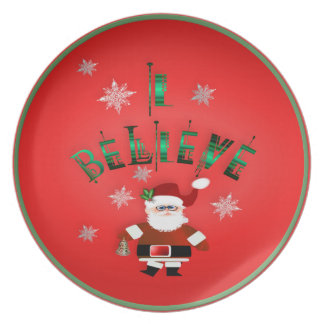 I Believe! Party Plate