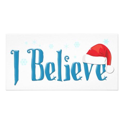 I Believe Photo Card Template