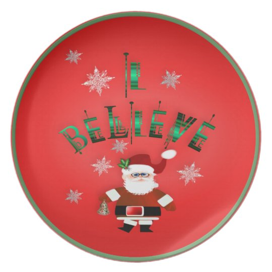 I Believe! Plate