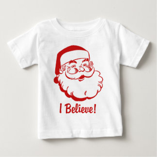 I Believe Santa Claus Baby T-Shirt