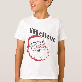 I Believe Santa Kids T-Shirt