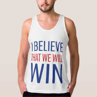 I Believe That We Will Win! Singlet