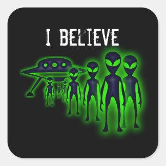 I believe UFO and Aliens Sticker