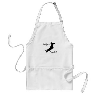 I belive I can fly dachshund Standard Apron