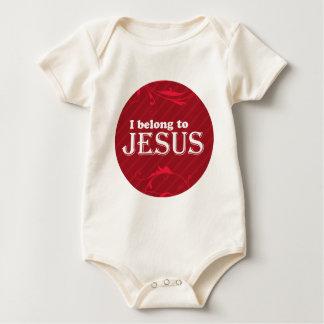 I Belong To Jesus Baby Bodysuit