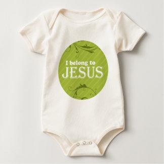 I Belong To Jesus Baby Creeper