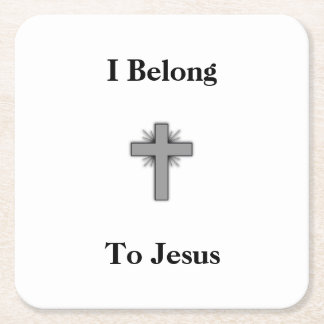 I Belong To Jesus Coasters