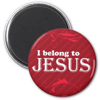 I Belong To Jesus Fridge Magnet