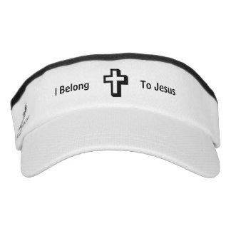 I Belong To Jesus Knit Visor