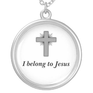 I Belong To Jesus Necklace with Cross