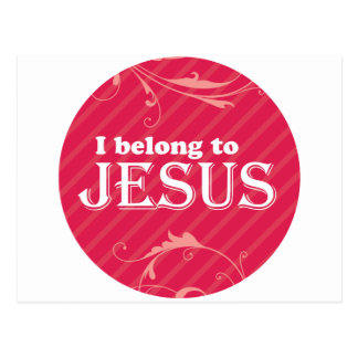 I Belong To Jesus Postcard