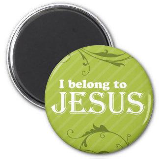 I Belong To Jesus Refrigerator Magnets
