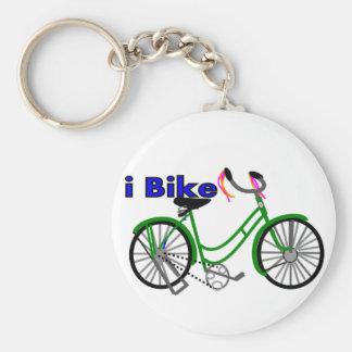 I bike bicycle drawing 1950 bike key chains