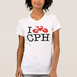 I Bike CPH Womens Shirt
