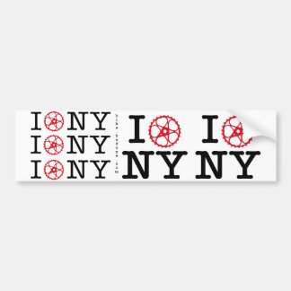 I Bike NY Bumper Sticker