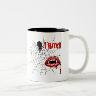 I Bite Coffee Mug !!