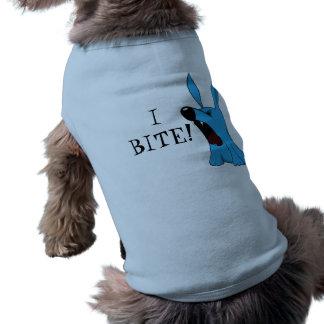 I BITE! Dog shirt! Shirt