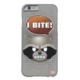 """I Bite"" Rocket Emoji Barely There iPhone 6 Case"