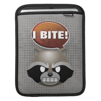 """""""I Bite"""" Rocket Emoji iPad Sleeve"""