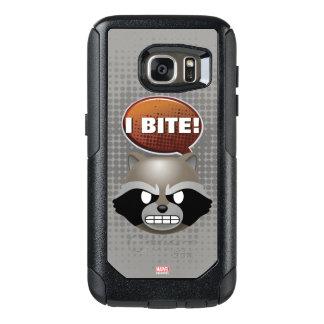 """I Bite"" Rocket Emoji OtterBox Samsung Galaxy S7 Case"