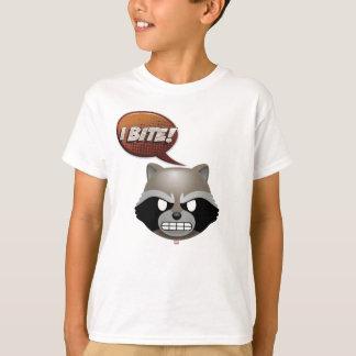 """I Bite"" Rocket Emoji T-Shirt"