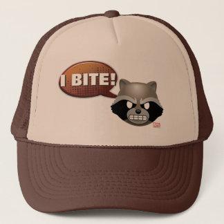 """I Bite"" Rocket Emoji Trucker Hat"