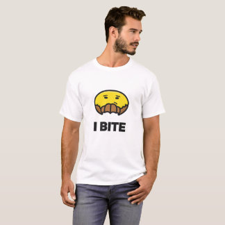 I Bite Smiley T-Shirt