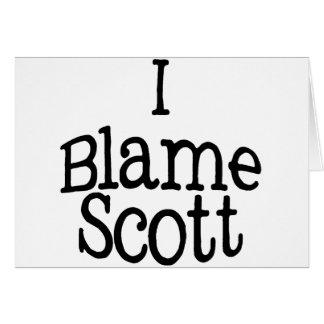 I Blame Scott Card