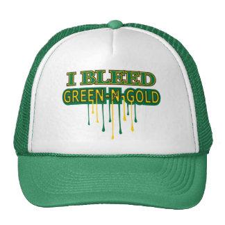 I Bleed Green 'n Gold Hats
