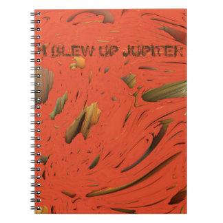 I BLEW UP JUPITER MANDELBULB 3D IMG NOTE BOOKS