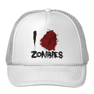 i bloody heart zombies cap