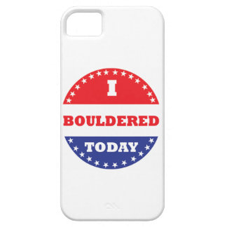 I Bouldered Today iPhone 5 Covers