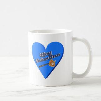I Boy Valentine T-shirts and Gifts Basic White Mug