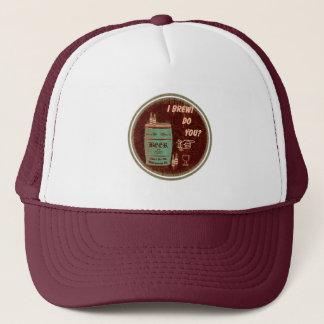 I Brew Do You? Graphic Logo 3 Trucker Hat