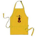 I Broke My G String (Cello) Standard Apron