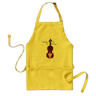 I Broke My G String (Cello) Standard Apron