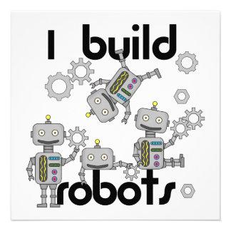 I Build Robots Personalized Invite