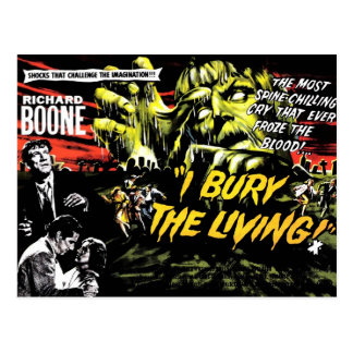 """I Bury the Living"" (1958) Postcard"