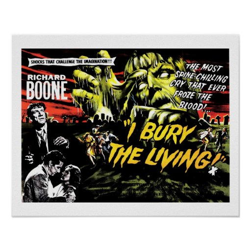 """I Bury the Living"" (1958) Poster"