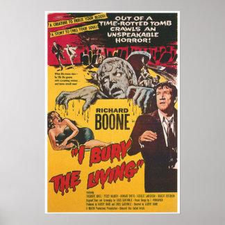 I Bury The Living Horror Movie Poster
